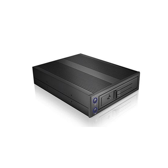 """RaidSonic ICY BOX Trayless Mobile Rack for 3.5"""" SATA HDDs (IB-176SSK-B) (RSCIB-176SSK-B)"""