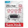 SanDisk Cruzer Ultra Trek USB 3.0 Flash Drive 64GB (SDCZ490-064G-G46) (SANSDCZ490-064G-G46)