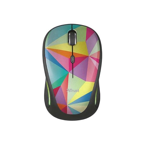 Trust Yvi FX Wireless Mouse - geometrics (22337) (TRS22337)