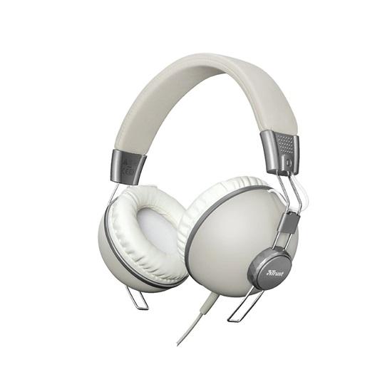 Trust Noma Headphones - retro ivory (22636) (TRS22636)