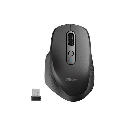 Trust Ozaa Rechargeable Wireless Mouse - black (23812) (TRS23812)