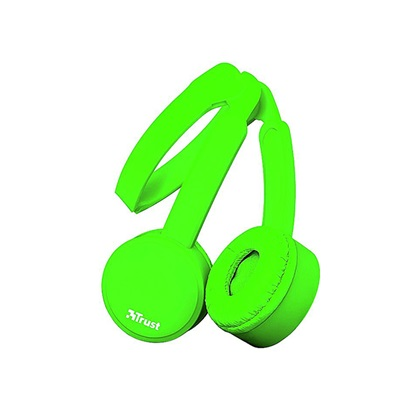 Trust Nano Foldable Headphones - green (23101) (TRS23101)
