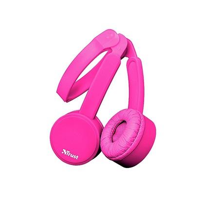 Trust Nano Foldable Headphones - pink (23102) (TRS23102)