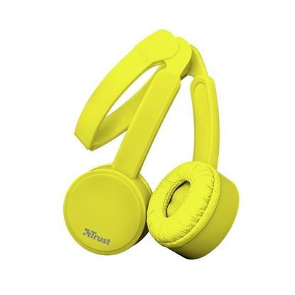 Trust Nano Foldable Headphones - yellow (23106) (TRS23106)