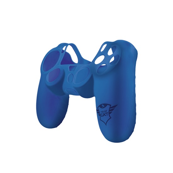 Trust GXT 744B Rubber Skin for PS4 controllers - blue (21213) (TRS21213)