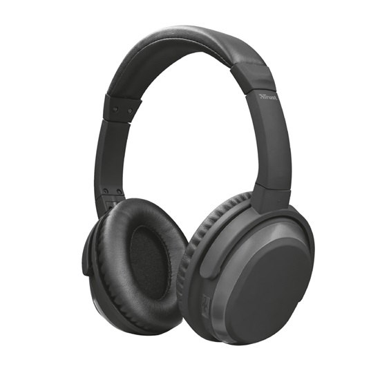 Trust Paxo Bluetooth Wireless Headphones with Active Noise Cancelling (22451) (TRS22451)