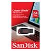 SanDisk Cruzer Blade 64GB USB 2.0 (SDCZ50-064G-B35) (SANSDCZ50-064G-B35)