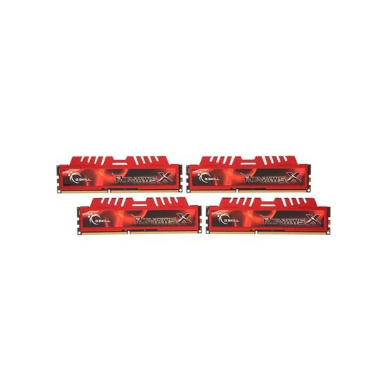 G.Skill RipjawsX DDR3-1333MHz 32GB (4x8GB) (F3-10666CL9Q-32GBXL) (GSKF3-10666CL9Q-32GBXL)