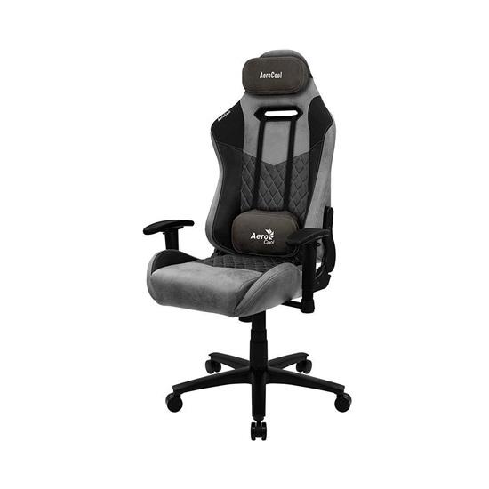 Aerocool DUKE AeroSuede Universal gaming chair Black Grey (AEROAC-280DUKE-BK)