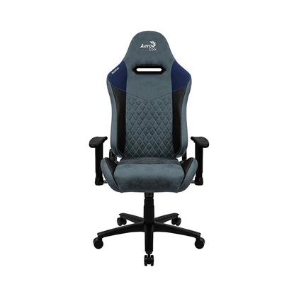 Aerocool DUKE AeroSuede Universal gaming chair Black Blue (AEROAC-280DUKE-BK/BL)