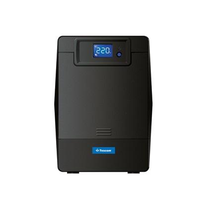 Tescom LCD 1K UPS Line Interactive (UPS.0231) (TSLCD1K)