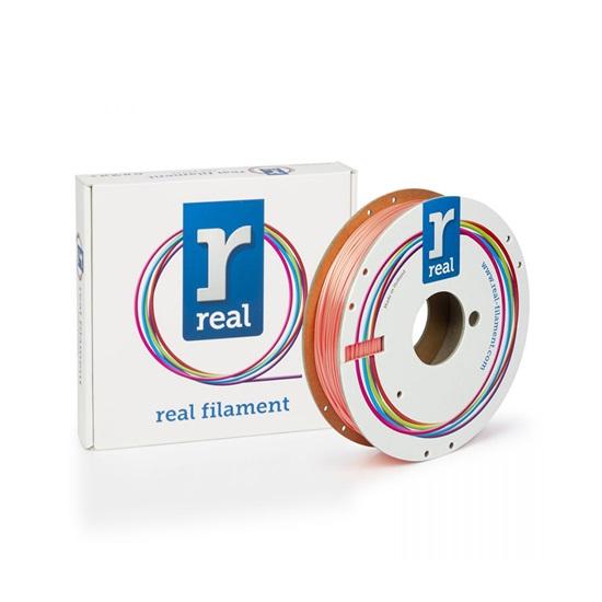 REAL PLA 3D Printer Filament - Satin Salmon - spool of 0.5Kg – 2.85mm (REFPLASATINSALMON750MM285)