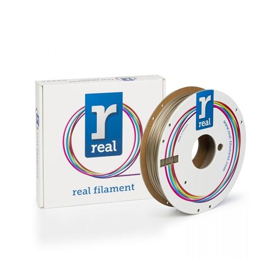 REAL PLA 3D Printer Filament - Satin Shine - spool of 0.5Kg - 1.75mm (REFPLASATINSHINE500MM175)