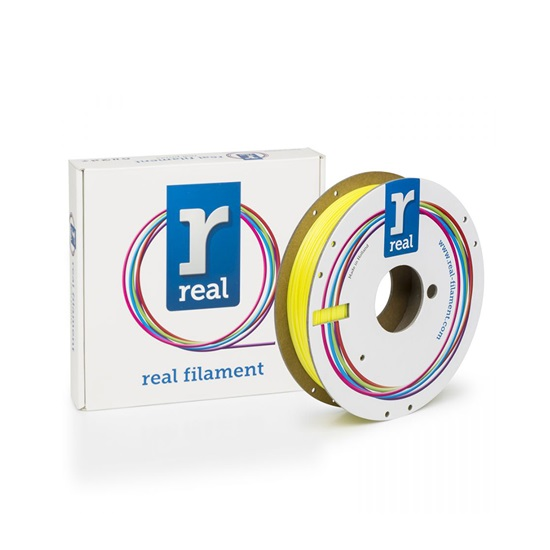 REAL PLA 3D Printer Filament - Satin Sun - spool of 0.5Kg – 2.85mm (REFPLASATINSUN500MM285)