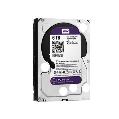 """Western Digital Surveillance Hard Drive 6TB (Purple 3.5"""") (WD62PURZ)"""