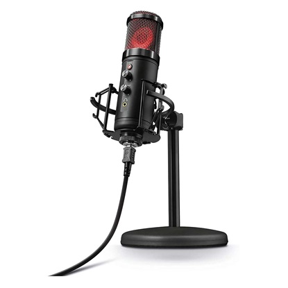 Trust GXT 256 Exxo USB Streaming Microphone (23510) (TRS23510)