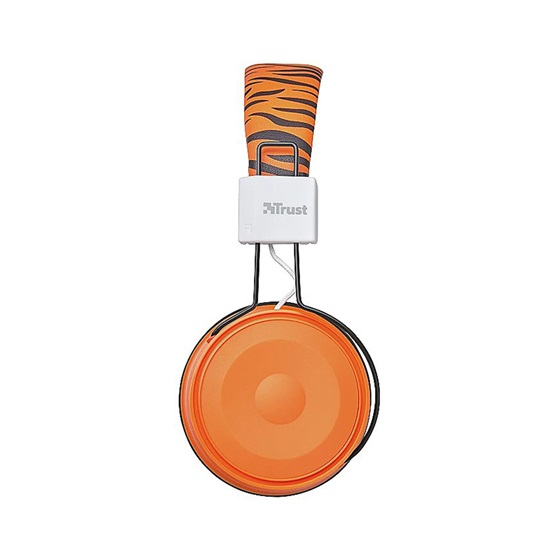 Trust Comi Bluetooth Wireless Kids Headphones - orange (23583) (TRS23583)