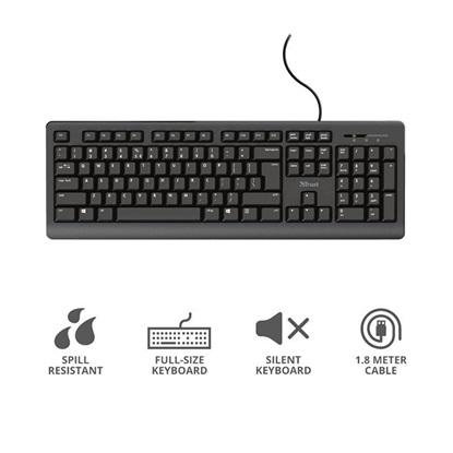 Trust Primo Keyboard LT (24322) (TRS24322)