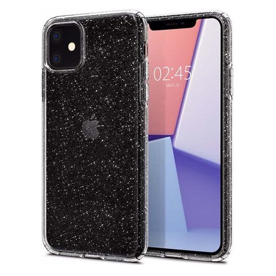 Spigen Liquid Crystal Glitter iPhone 11 Crystal Quartz (076CS27181) (SPI076CS27181)