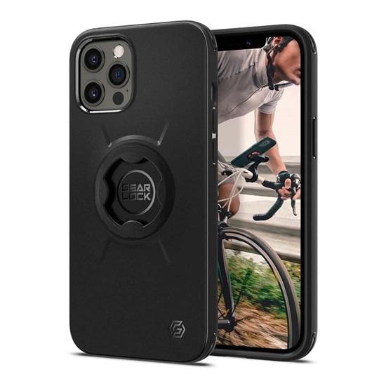 Spigen Gearlock iPhone 12/12 Pro Bike Mount Case – Black (ACS01588) (SPIACS01588)