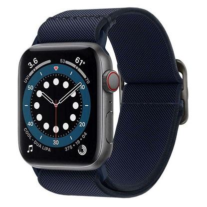 Spigen Lite Fit Apple Watch Series 44mm / 42mm Band – Navy (AMP02287)