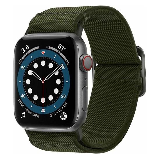 Spigen Lite Fit Apple Watch Series 44mm / 42mm Band – Khaki (AMP02288)