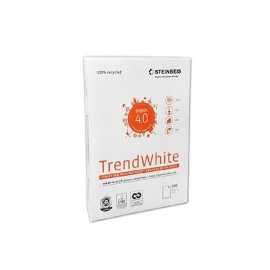 Επαγγελματικό Χαρτί Εκτύπωσης Ανακυκλωμένο Steinbeis N2 Formely Trend White A4 80g/m² 500 Φύλλα (STE691811)