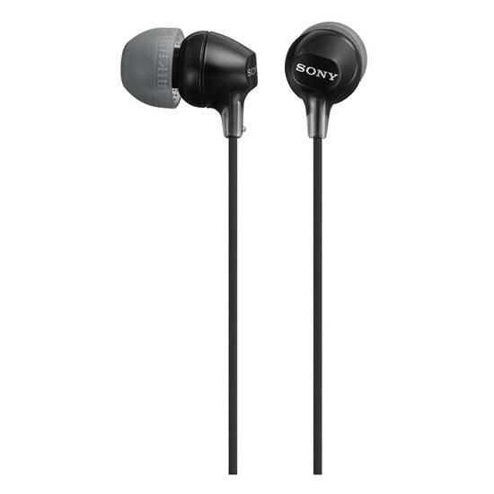 Sony In-Ear Headphones Black (MDREX15LPB.AE) (SNYMDREX15LPBAE)