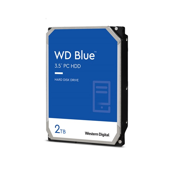 "Western Digital PC Desktop Hard Drive 2 TB (Blue 3.5"") (SMR) (WD20EZBX)"