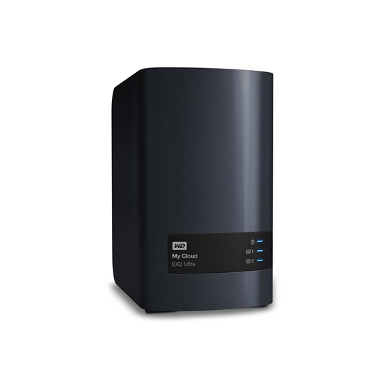 Western Digital My Cloud EX2 Ultra 6TB External (Black) (WDBVBZ0060JCH-EESN)