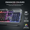 Trust GXT 856 Torac Illuminated Gaming Keyboard (23577) (TRS23577)