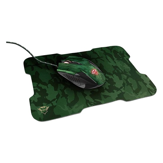 Trust GXT 781 Rixa Camo Gaming Mouse & Mouse Pad (23611) (TRS23611)