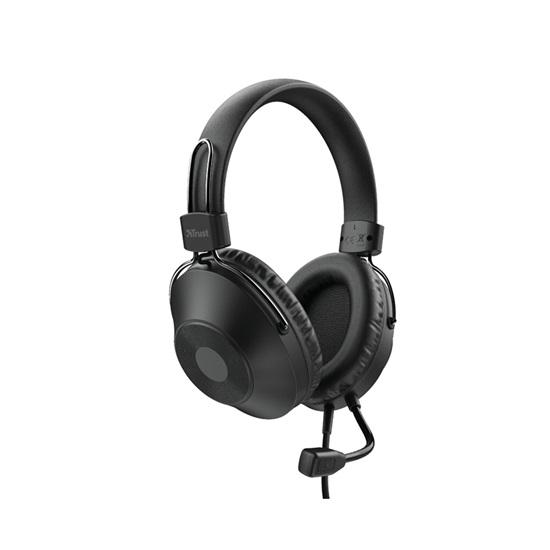 Trust HS-250 Over-Ear USB Headset (24185) (TRS24185)