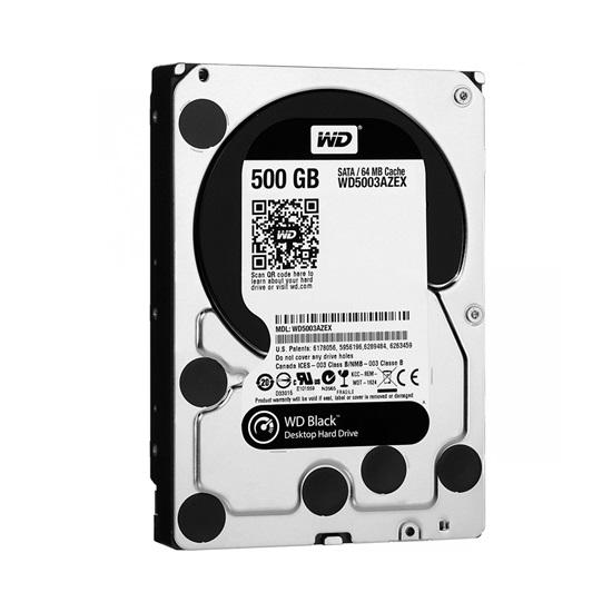 Western Digital WD_BLACK Performance Desktop Hard Drive 500GB (Black 3.5'') (WD5003AZEX)