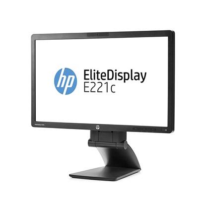Refurbished  HP EliteDisplay E221c 21.5-inch Webcam LED Backlit FHD Monitor