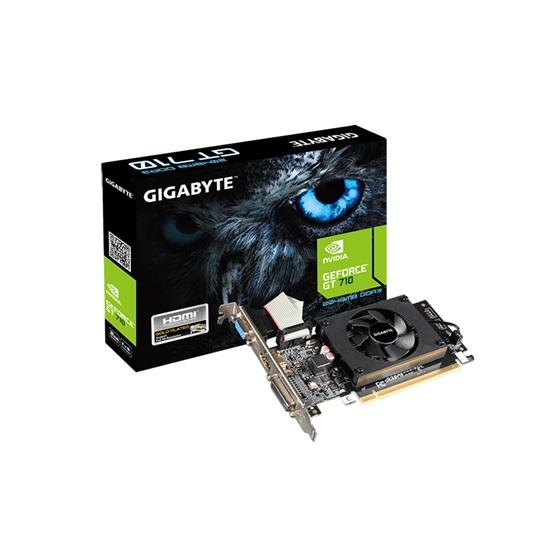 VGA Gigabyte GeForce GT 710 2GB D3 2GL (Rev. 2) (GV-N710D3-2GL) (GIGGV-N710D3-2GL)