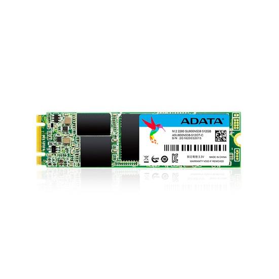 ADATA SSD 512GB Ultimate SU800 M.2 2280 SATA (ASU800NS38-512GT-C) (ADTASU800NS38-512GT-C)