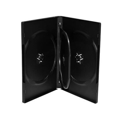 MediaRange DVD Case for 4 discs 14mm Black (MRBOX17)
