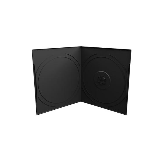 MediaRange DVD Case for 1 disc, 7mm, pocket sized, Black (MRBOX10)