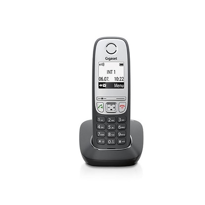 Ασύρματο Τηλέφωνο Gigaset A415A DECT Black (S30852-H2505B101) (GGSA415BK)