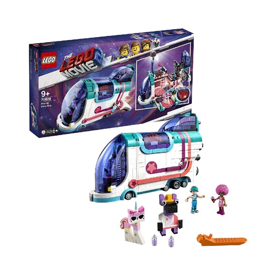 Lego Movie 2: Pop-Up Party Bus (70828) (LGO70828)