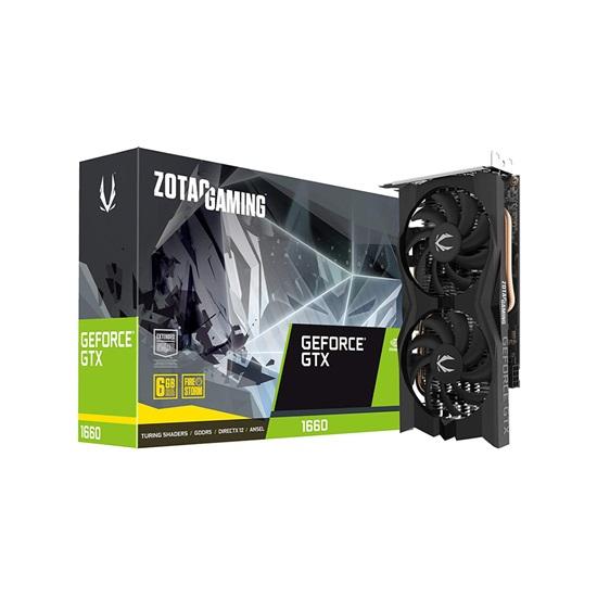 VGA Zotac GeForce® GTX 1660 Gaming 6GB (ZT-T16600K-10M) (ZOTZT-T16600K-10M)