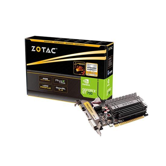 VGA Zotac GeForce® GT730 4GB (ZT-71115-20L) (ZOTZT-71115-20L)