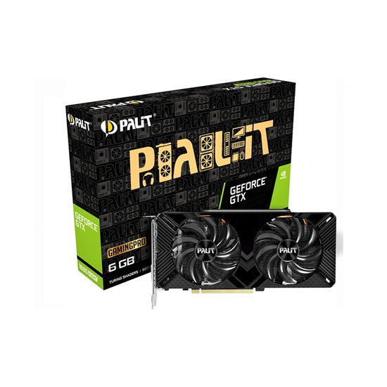VGA Palit GeForce® GTX 1660 Super 6GB GamingPro V1 (NE6166S018J9-1160A-1) (PALNE6166S018J9-1160A-1)