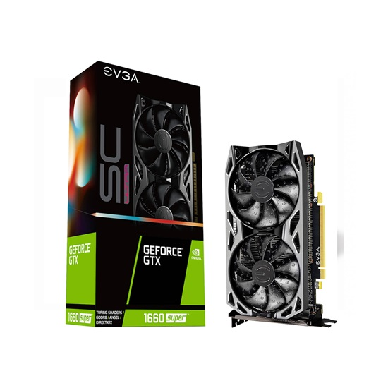 VGA EVGA GeForce® GTX 1660 Super 6GB SC Ultra Gaming (06G-P4-1068-KR) (06G-P4-1068-KR)
