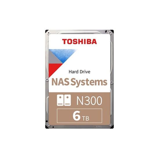 Toshiba N300 - NAS Hard Drive 3.5'' 6TB (HDWG160UZSVA) (TOSHDWG160UZSVA)