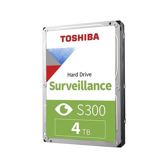 Toshiba S300 - Surveillance Hard Drive 3.5'' 4TB (CMR) (HDWT140UZSVA) (TOSHDWT140UZSVA)