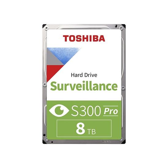 Toshiba S300 - Pro Surveillance Hard Drive 3.5'' 8TB (CMR) (HDWT380UZSVA) (TOSHDWT380UZSVA)