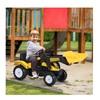 HomCom Παιδικό Τρακτέρ με Εκσκαφέα (341-018) (HOM341-018)