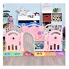 Homcom Πλαστικός Παιδότοπος - Φράχτης Παιχνιδιού 162 x 122 x 63 cm. (431-041PK) (HOM431-041PK)